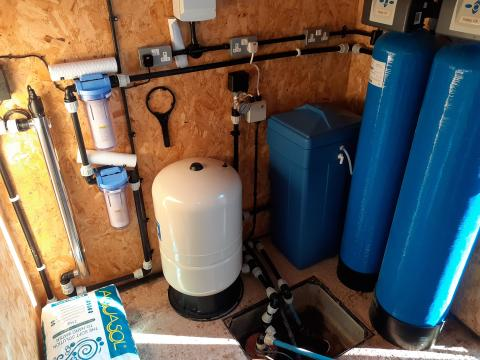 water treatment systems design and installation in Devon